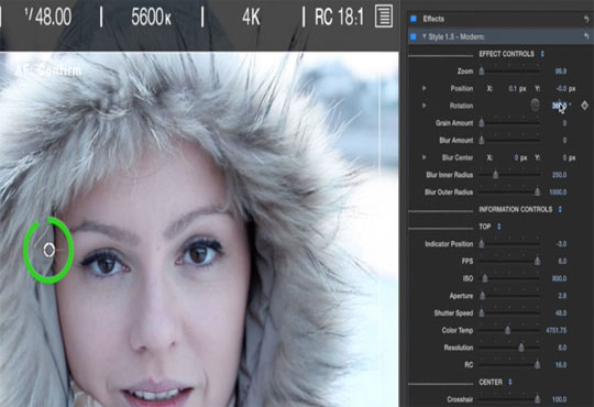 Pixel Film Add Colors to Frames with ProScrub for FCPX